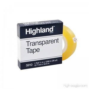 Highland Transparent and Invisible Tapes (MMM5910121296) - B000FNCZZA