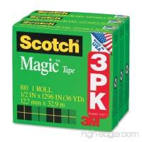 MMM810H3 - Scotch Magic Tape Refill - B004E3HWUU