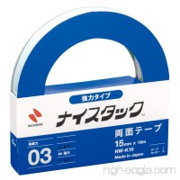 NICHIBAN NICETACK powerful type double-sided tape 15mm x 18M NW-K15 (japan import) - B0017XFHFM