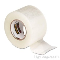 Scotch 38424 Tear-by-Hand Packaging Tape 1.88 x 50yds 1 1/2 Core Clear 4/Pack - B00TA505WO