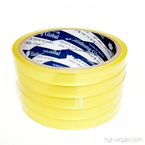 Transparent Packing Tape 3inches core Invisible Tape (0.47(12mm) width 21.87yd(20m) length-24 rolls) - B06X8ZLKXD