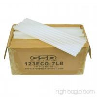 Economy Hot Melt Glue Sticks 7/16 X 10 125 Sticks 7 lbs bulk - B00I8YK0LY