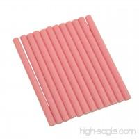 """GlueSticksDirect Pink Faux Wax Glue Stick mini X 4"""" 12 Sticks - B00AF0M8R8"""