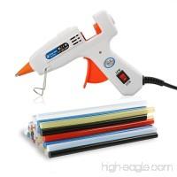 Lifegoo Mini Hot Melt Gun Glue with 40pcs EVA Glue Sticks Colored and Storage Bag for DIY Small Craft Projects and Removable Anti-hot Cover Glue Guns Kit Flexible Trigger - B07CH7JN8L