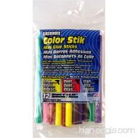 "Surebonder CO-12V Mini All Temperature Colored Glue Stik-12 glue sticks-4"" length  5/16"" diameter - B00178QQGG"