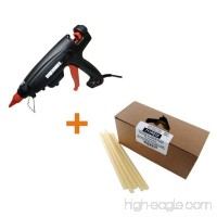 7/16 In. D X 10 In. L Adjustable Temperature Industrial Glue Gun With Glue Sticks Fast Set (5 Lb. Per Box)-Surebonder-PRO2-220/711R510 - B00FN6PP5Q