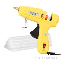 Hot Glue Gun,Antehome 60/120W Dual Power High Temperature Hot Melt Glue Gun with 15 pcs Glue Sticks,for DIY Small Arts Craft Projects Decoration and Gifts Household (B) - B07DW77917