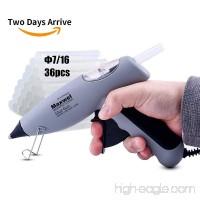 Hot Glue Gun DIY Kit - UL Listed Heavy Duty Anti Drip Glue Gun Work with Dia 0.43 x 4 Long Full Size Glue Sticks 36Pcs Free in Pack Ideal for DIY Work - B07894PY6M