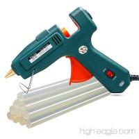 Hot Glue Gun kits  10pcs Glue Sticks High Temperature Melting Glue Gun 60/100W Industrial Glue Gun Flexible Trigger for DIY Small Craft Projects&Sealing and Quick Repairs - B01IR0FBDA