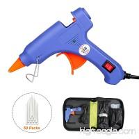 TBTeek Glue Gun Kit Hot Glue Gun Case Mini Hot Melt Glue Gun Melting Glue Gun Kit 20 Watts for DIY Craft Projects Repair Kit Sealing Quick Repairs - B0778M95SB