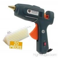 YKHS Hot Glue Gun 60W/100W Dual Power High Temp Heavy Duty Melt Glue Gun Kit—With 20 Pcs Glue Sticks  Electronic Glue Gun - B075S34Y9P