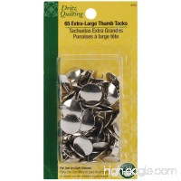 Dritz Quilting Thumb Tacks Heads  Extra Large  65-Count - B003W0NO08