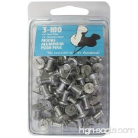 Moore Push-Pin 3-100 Aluminum Push Pins - B0027A5EC0