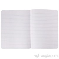 "1InTheOffice Composition Notebook Solid Color  9 3/4"" x 7 1/2""  Wide Ruled  80 Pages (40 Sheets)  Assorted Colors - B07FFGM361"