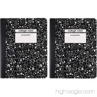 Composition Book  College Ruled  100 Sheets - B011GOAVCU