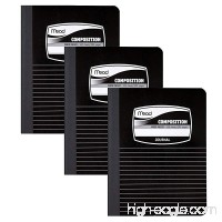 """Mead Composition Books / Notebooks / Journal  Wide Ruled Paper  100 Sheets  9-3/4"""" x 7-1/2""""  3 Pack (38063) - B071438KVR"""