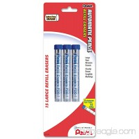 Pentel Eraser Refills for Mechanical Pencils Pack of 15 (PDE1BP3-K6) - B00006IFB5