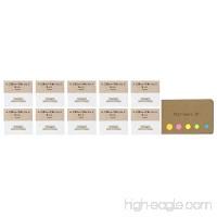 Uni Mechanical Pencil Eraser Refills (SKS)  10-pack  Sticky Notes Value Set - B079DPV5V9