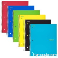 "Five Star Spiral Notebooks  1 Subject  Graph Ruled Paper  100 Sheets  11"" x 8-1/2""  Assorted Colors  6 Pack (73549) - B071NTLWX7"