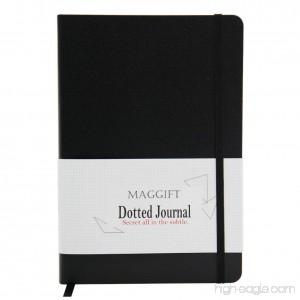 Maggift Hardcover Dot Notebook Bullet Journal A5 Size - B07B9SX56R