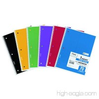 Mead Spiral 1-Subject Wide-Ruled Notebook  1 Notebook  Color May Vary  Assorted Colors (05510) - B00004YV1W