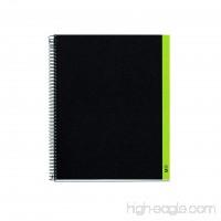 "Miquelrius Medium Spiral Bound Notebook  Green (6.5"" x 8""  4-Subject  College Ruled) - B00KBZO8X4"