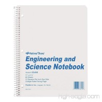 NATIONAL Engineering & Science Notebook White 11 x 8.5 60 Sheets (33610) - B001E69X52