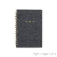 "Blue Sky Professional Hardcover Executive Notebook  Grey  5.75"" x 8.5"" - B01GNXMP82"