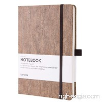 Bullet Journal - Eco-Friendly Natural Cork Hardcover Dot Grid Notebook with Pen Loop - Premium Thick Paper - A5 (5x8In) Bound Notebook - B075NKDSBZ