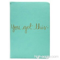Eccolo Dayna Lee Collection Mint You Got This 8x6 Flexi-cover Journal / Notebook Acid-free Lined Sheets - B06XTV2MCN