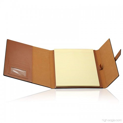 Gallaway Leather Padfolio Portfolio Folder Perfect For Your