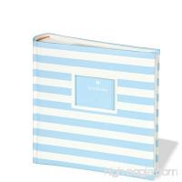 Semikolon 200 Pocket Bound Photo Album  Stripes  Blue/Cream (0425587) - B005OYSJ00