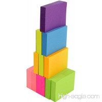 4A Sticky Notes 1 1/2 x 2 Inches The Adhesive On Shorter Side Neon Assorted Self-Stick Notes 100 Sheets/Pad 12 Pads/Pack 4A 301x12-N - B01LVTWP7Q