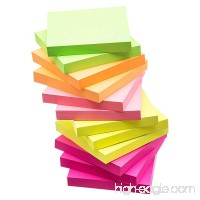 eBoot Sticky Notes Self Sticky Notes 3 x 3 Inches 12 Pieces 100 Sheets/Pieces Assorted Colors - B01N6LZRYP