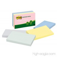 Post-it Greener Notes  3 in x 5 in  Helsinki Collection  5 Pads/Pack (655-RP-A) - B00006JNL2