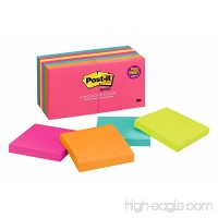 Post-it Notes 3 in x 3 in Cape Town Collection 14 Pads/Pack (654-14AN) - B0002DOC5Y
