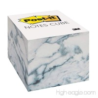 Post-it Notes Cube  2.6 in x 2.6 in  Marble Design  620 Sheets/Cube - B074N8NS2K