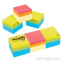 Post-it Notes Cube  2 in x 2 in  Green Wave and Canary Wave  400 Sheets/Cube  3 Cubes/Pack (2051-3PK) - B0000AQNM4