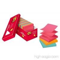 Post-it Pop-up Notes 3 in x 3 in Cape Town Collection 18 Pads/Cabinet Pack 100 Sheets/Pad (R330-18CTCP) - B01BHW9I3O