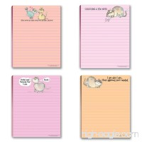 Funny Cat Theme Pads - 4 Assorted Kitty Note Pads - B00PYP89JU