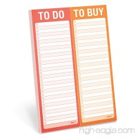 Knock Knock To Do/To Buy Perforated Note Pad - 1601065663