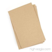 Kraft Notebooks 3.5 X 5.5 Inches Set of 5 Kraft Brown Blank Pages Blank Cover Small Journals No Branding - B06XRYZF9Q