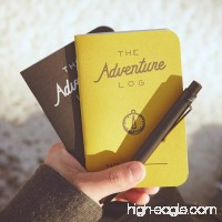 Word Notebooks Adventure Log - Black 3-Pack - Traveler's Notebook - B00TFT29BU