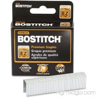 Bostitch STCR130XHC PowerCrown Staples 1/2 W 100/Strip 1000/BX Silver - B00PV1DWZ8