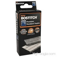 Stanley Bostitch Premium Standard Staples 1/4 (6mm) High Carbon Steel Chisel Point 5 000 Per Box (SBS191/4CPR) - B0742NKY6Y