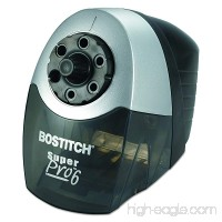 Bostitch SuperPro 6 Extra Heavy Duty Classroom Commercial Electric Pencil Sharpener  6-Holes  Black/Gray (EPS12HC) - B000DZAT12