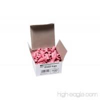 Charles Leonard Pencil Eraser Caps Pink 144/box (71541) - B001AZ54JG