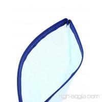 DealMux PVC Zippered Gridding Checkbook ID A5 Document File Bag Holder 5pcs Blue - B01EZP6NZG