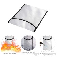Fireproof Safe Document Enord Fire Safe Heat Fire Water Resistant Bag For Bank Cards/Jewelry/Cash/Money Home Fireproof Safe Storage Pouch Lipo Battery Safe Protection Box - B07CYMQR3G