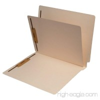 11 Pt. Manila Folders  Full Cut End Tab  Letter Size  1 Divider Installed (Box of 40) - B00LG6N3WY
